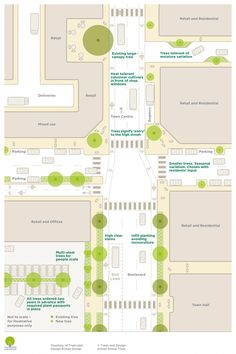 Trees in Hard Landscapes – Trees and Design Action Group Trees in Hard Landscapes – Trees and Design Action Group Landscape And Urbanism, Urban Landscape, Landscape Design, Urban Design Diagram, Urban Design Plan, Urban Ideas, Planer Layout, Street Trees, Urban Analysis