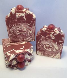 Hey, I found this really awesome Etsy listing at https://www.etsy.com/listing/227083476/luxury-artisan-soap-cherry-bomb-homemade
