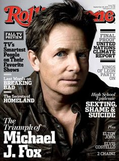 In our September 26, 2013 issue, Michael J. Fox opens up about his remarkable comeback: http://rol.st/1eDjbqG