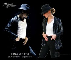 The Look For Less: Michael Jackson (recreated from thrift store items)