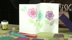How To Make a Z-Fold Card - No Special Tools Required!. Nami Nakamura shows us how to create a z-fold card without using any special tools. ...
