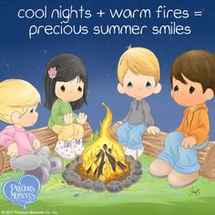 You can always make money but you can't always make memories. Be sure to take time for summer nights! What's your favorite summer night activity? Tell us in the comments below and feel free to share this post! #PreciousMoments #LifesPreciousMoments #SummerFun