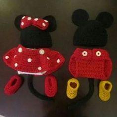 Mini und mickey mouse 1
