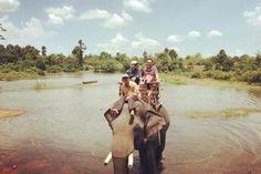 Khu du lịch Buôn Đôn hút khách với hoạt động cưỡi voi