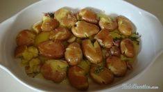 Cabrito assado no forno Sprouts, A Table, Potatoes, Vegetables, 30, Food, Onions, Salads, Garlic