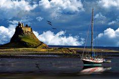 ❦ beasfavs  Tides Rising (von Biffo4tanks)    Lindisfarne Castle,Holy Island,Northumberland.