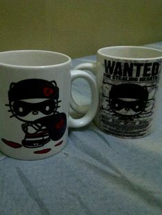 My special made mugs... :)