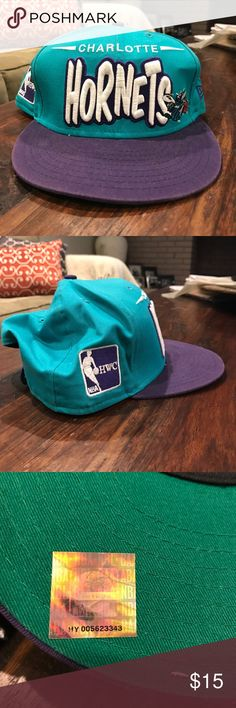 Charlotte Hornets SnapBack hat Charlotte Hornets SnapBack hat New Era Accessories Hats