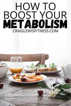 How to boost your metabolism?I'm sure you've heard someone say this before, or perhaps you've been wanting to do this yourself? (more on this in a minute).  During my time in University when I was studying Sports Science, we looked a how our metabolisms work. Low Carb Recipes, Real Food Recipes, Diet Recipes, Healthy Recipes, Healthy Tips, Cooker Recipes, Healthy Foods To Eat, Healthy Eating, Healthy Weight