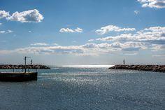 Orizzonte dal Porto della Maremma #maremma #toscana #italy #orizzonti #seaside