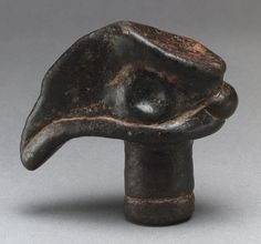Bird Head [Papua New Guinea, reportedly found in the Morobe district] (1978.412.1504) | Heilbrunn Timeline of Art History | The Metropolitan Museum of Art