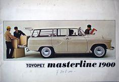 トヨペットマスターライン1900カタログ 昭和43年 Toyopet Masterline brochure