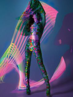 Publication: Vogue Paris March 2017 Model: Valentina Sampaio Photographer: Mert Alas and Marcus Piggott Fashion Editor: Emmanuelle Alt Hair: Paul Hanlon Make Up: Isamaya Ffrench PART II