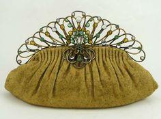 a custom made vintage purse
