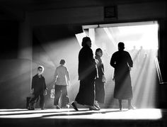 Fan Ho: finding love and light in 1950s Hong Kong – in pictures Afternoon Chat, 1959. Photograph: Fan Ho Nicknamed 'the great master', Fan Ho is one of Asia's most beloved street photographers, capturing the spirit of Hong Kong in the 1950s and 60s. His work shows a love of people combined with unexpected, geometric constructions and a sense of drama heightened by use of smoke and light