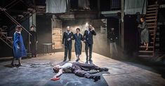 """""""My brillliant friend"""" al Rose Theatre di Kingston"""