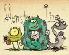 Monster Inc :3