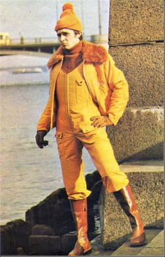 """""""Coveralls are referred to the newest offers in the sphere of non-traditional man suit. Young men, self-confident extravagance-lovers are likely to wear them. They won't regret about it ever. The source of this kind of clothes is hidden in a working uniform; that is why coveralls are particularly comfortable."""" (Leningrad Fasion. 1977.№3)"""