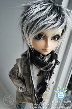 I really like the style of this wig for the Taeyang doll.