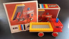 VINTAGE LEGO BOXED - NO.331 (DUMP TRUCK) WITH INSTRUCTIONS
