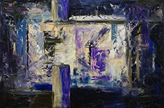 "Night Window by Donald Fox Oil ~ 24"" x 36"""