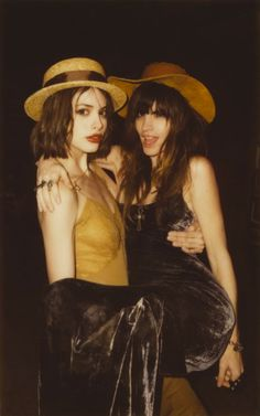 solestruckshoes:  Kelley Ash and Charlotte Kemp Muhl
