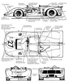 Ferrari 350 P4 CanAm | SMCars.Net - Car Blueprints Forum