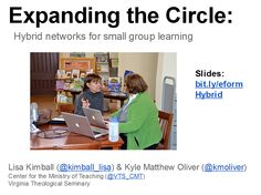 Workshop Resources: Expanding the Circle – Hybrid networks for small group learning - #eform14 - e-Formation