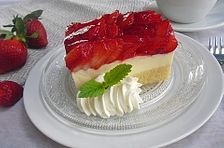 blechkuchen Strawberry Cake by Cake Cookies, Panna Cotta, Cheesecake, Strawberry, Baking, Ethnic Recipes, Easy, Desserts, Hipster Stuff
