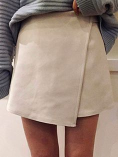 beige suede skirt for fall