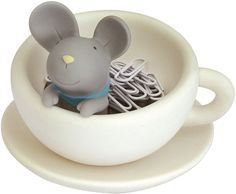 mouse paperclip holder @ pylones-usa.com