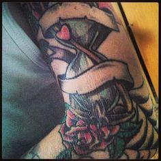 #sandglasstattoo#tattoosleeve