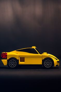 Yellow Coupe Toy