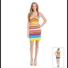🎉Host Pick🎉 Stripped Calvin Klein dress Striped dress Calvin Klein. NEW Calvin Klein Dresses