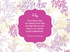 """""""The highlight our Pure Barre experience so far was taking our 100th class. It was such an accomplishment that we were able to share together."""" - Hannah & Beth, A Pure Mom Story"""