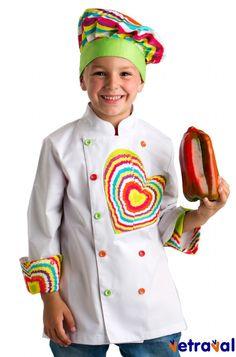 Chaqueta de cocina de niño Perfecto para invitar a cocinar a los más peques!