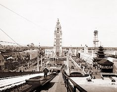 Dreamland Coney Island -Brooklyn, 1904