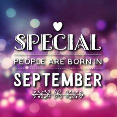 Exceptionnel Special People Are Born In September September Goodbye August September  Gifs Hello September.