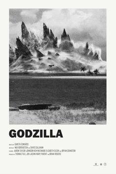 "theandrewkwan: ""Godzilla alternative movie poster """
