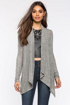Кардиган Размеры: S, M, L Цвет: бежевый, серый Цена: 1081 руб.     #одежда #женщинам #кардиганы #коопт