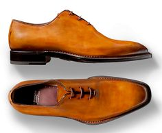 What Style looks like. Norwegian welted wholecut 'Egg-Yolk' oxfords from  Italy's