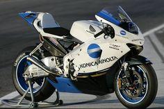 mo Honda RC211V MotoGP 2005, team Konica Minolta Honda, Makoto Tamada #6.