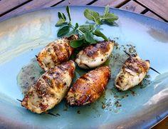 Grilled Stuffed Squid – Diane's Food Blog