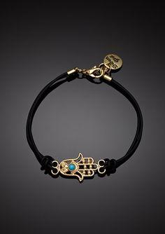 MEGHAN FABULOUS              Tiny Hamsa Bracelet