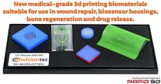 EnvisionTEC Unveils New Medical-Grade Materials and Feature Options for Silicone Rubber, Printers, Labs, Biodegradable Products, Drugs, 3d Printing, Medical, Impression 3d, Medicine