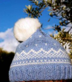 Items similar to Norwegian hand knitted hat wool with fluffy pom pom on Etsy Hand Knitting, Knitted Hats, Winter Hats, Wool, Trending Outfits, Unique Jewelry, Handmade Gifts, Awesome, Etsy