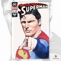 Prado, Duke, Superman, Comic Art, David, Baseball Cards, Comics, Cover, Artwork