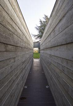 Wood cast concrete