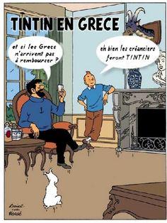 Les Aventures de Tintin - Album Imaginaire - Tintin en Grèce