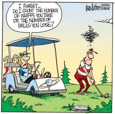 Flightpartner, die man nicht auf der Runde dabei haben möchte! | Wallgang: Alles zum Thema Golf aus einer Hand!